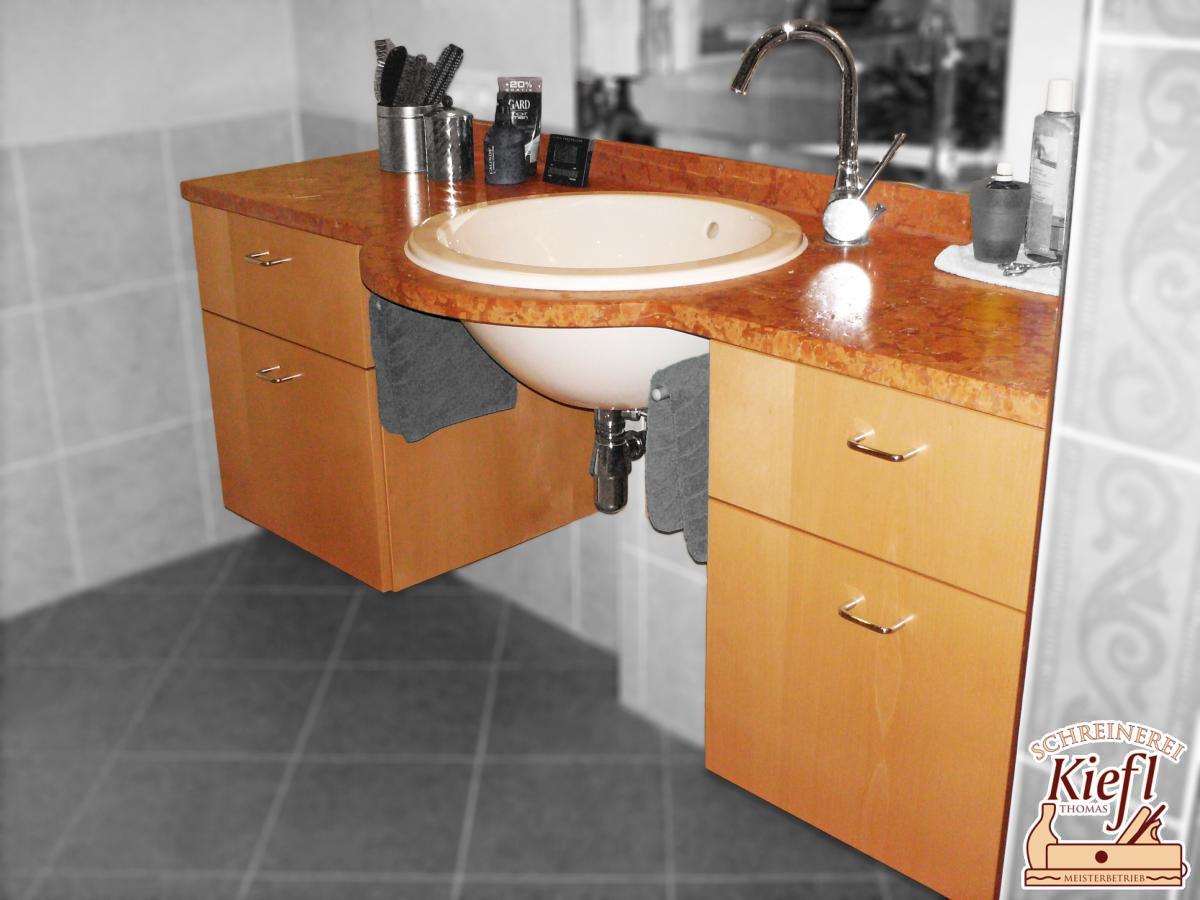 Waschtisch-Unterhängeschrankelemente
