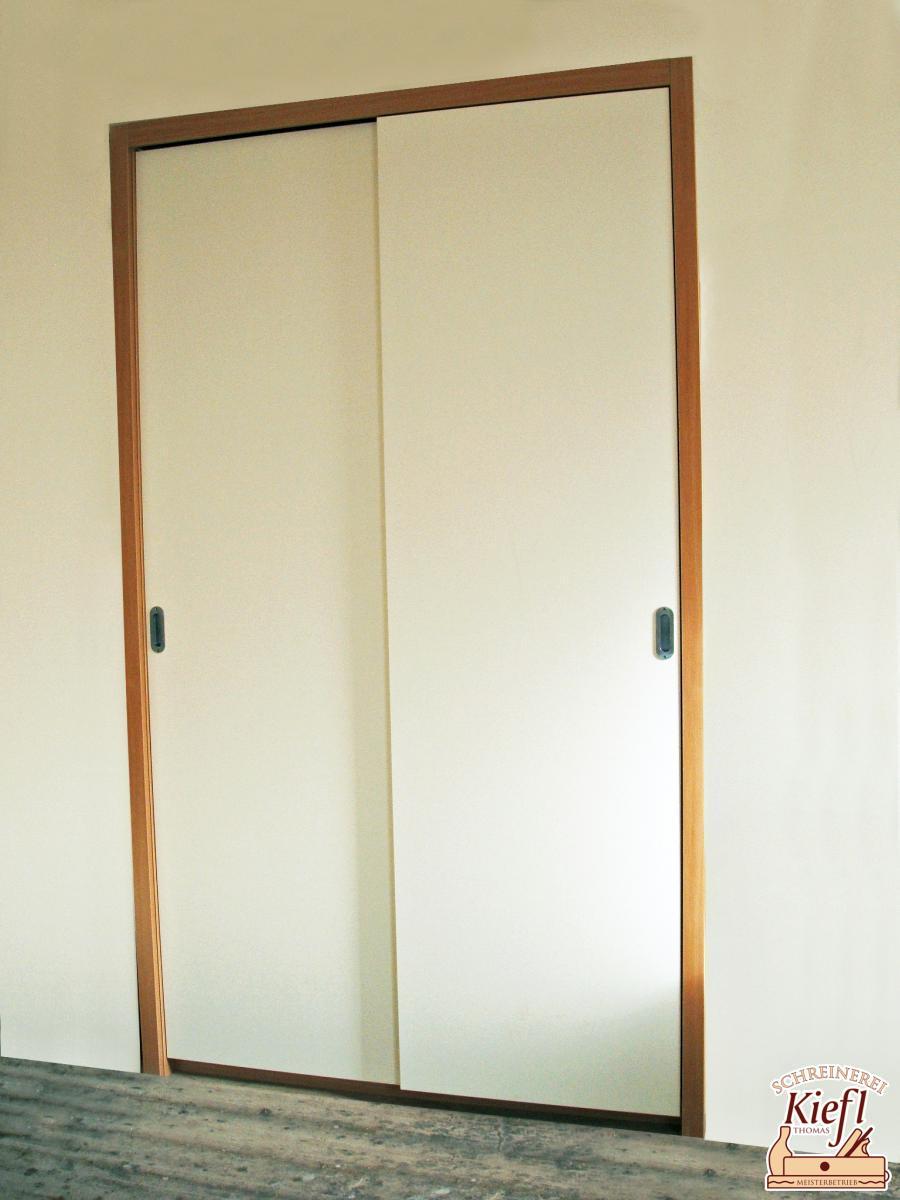 Einbauschrank als Garderobe